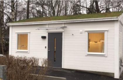 House module exterior